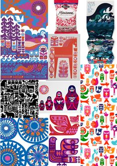 Finnish design - by Sanna Annukka - also for Marimekko & Fazer..