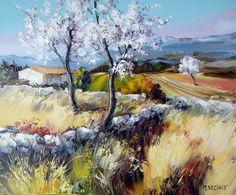The mood for tenderness Michel Vezinet Tuscany Landscape, Landscape Art, Henri Matisse, Fabian Perez, Z Arts, Italian Painters, Amazing Drawings, Painting Videos, Art Sketchbook