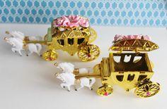 Princess Carriage favor Princess Favors, Princess Carriage, Sweet Treats