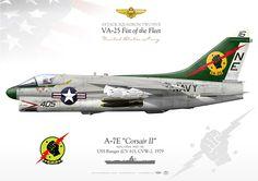 "UNITED STATES NAVY ATTACK SQUADRON TWO FIVE (VA-25) ""Fist of the Fleet""USS Ranger (CV 61), CVW-2. 1979Mediterranean, 1975"