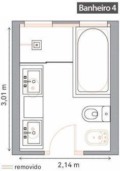 salle de bain de 6m2 baignoire douche wc - Recherche Google ...