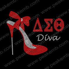 Rhinestone Applique AEO Diva High Heel for Sexy Lady wholesale,30pcs/lot-Rhinestone Transfers Wholesale︱Custom Rhinestone Transfers︱Rhinestone Transfers Supplier–PEAKEMB
