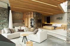 False Ceiling With Wood Home false ceiling shop living rooms.False Ceiling Ideas For Hall simple false ceiling design.False Ceiling Design With Chandelier. False Ceiling Design, False Ceiling Bedroom, Office Light, Loft Design, House Design, Shelter Design, Plafond Design, New Zealand Houses, Romantic Cottage