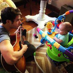 Jon McLaughlin. Serenading his daughter. Swoon everywhere.
