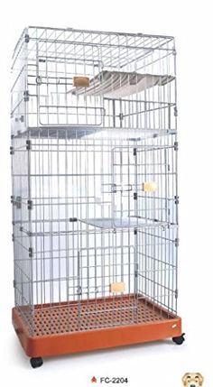 Sporer Petwant PC2204 Metal Crate Pet Home Training Kennel cage with crate traywheels and food bowl for designed for small and middlesized Dog or Cat PC2204 * Check out the image by visiting the link.