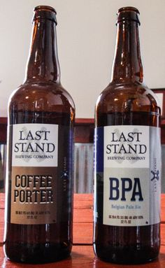 Last Stand BPA & Coffee Porter - Brewing Company in Austin TX