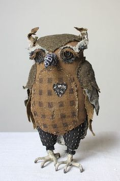 a Mr. Hootie pin cushion!  love it