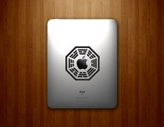 LOST Dharma Initiative Decal. wow, yes.