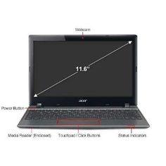 New Acer C7 C710-2847 Chromebook 11.6