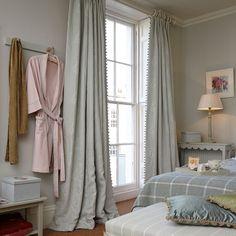 Fabric 327 - Linen/Shalini - Duck Egg Blue l Susie Watson Designs