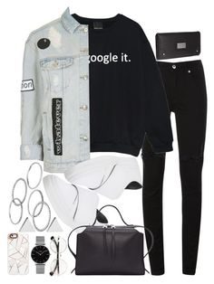 """Untitled #499"" by el-khawla ❤ liked on Polyvore featuring McQ by Alexander McQueen, Topshop, Jil Sander, Apt. 9, Jennifer Meyer Jewelry and Casetify"