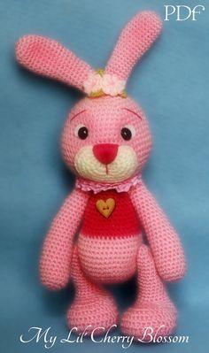 My Lil' Easter Bunny Amigurumi Pattern от Mylilcherryblossom