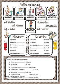 Reflexive Verben A1