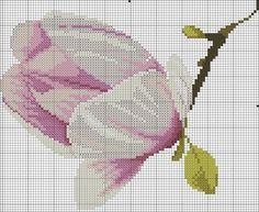 """Embroidery """"Magnolia"""""""