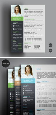 #clean #resume #free #freebie #template  #modern #design Modern Design, Web Design, Type Setting, Professional Resume, Creative Resume, Free Resume, Lorem Ipsum, Cleaning, Templates