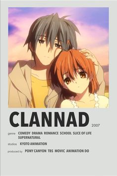 Manga Anime, Otaku Anime, Clannad Anime, Poster Anime, Japanese Poster Design, Animes To Watch, Anime Titles, Anime Recommendations, Minimal Poster