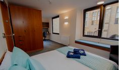 New B&B rooms now available in our refurbished Goodhart Building – book at www. College Bedding, Ox, B & B, Bed And Breakfast, Divider, University, Rooms, Building, Furniture