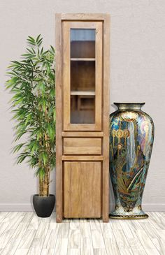 From our popular recycled teak collection comes this simple yet elegant Recycled Teak Solo Cupboard. Store and display your precious belongings without sacrificing too much floor space #teak #furniture #woodfurniture #rusticfurniture #cupboard #curiocabinet #homedecor