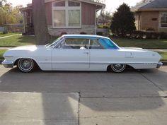 1963 Impala Lowrider   This car has it going on. 1963 Chevy Impala, 64 Impala, Chicano, Lo Rider, Old School Cars, Sweet Cars, Cool Trucks, Hot Cars, Custom Cars