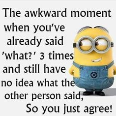 """Minion is a funny and beautiful character.And These Minion are so cute it will make you conscious.Just scroll down and keep reading these """"Top Minion Quotes Friends"""". Minion Humour, Funny Minion Memes, Minions Quotes, Funny Texts, Funny Humor, Epic Texts, Minions Minions, Funny Sarcastic, Puns Hilarious"""