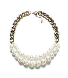 MAXI PEARL CHAIN NECKLACE - Accessories - Accessories - Woman | ZARA United States