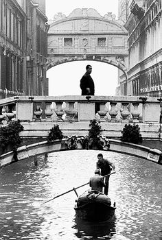Gianni Berengo Gardin. Venice. The Bridge of Sighs, 1960 c.