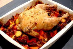 Kylling med rødbeder i ovn (nem kylling opskrift)