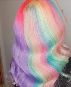 2019 Optimal Power Flow Exotic Hair Color Ideas for Hot and Chic Celebrity Hairstyles – Page 139 – My Beauty Note Exotic Hair Color, Cool Hair Color, Hair Colour, Purple Hair, Ombre Hair, Ombre Rose Gold, Pastel Rainbow Hair, Pelo Multicolor, Pastel Hair