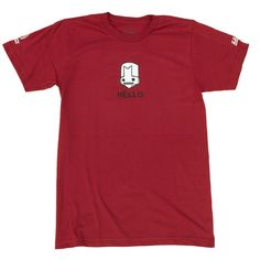 #CastleCrashers Hello Knight t-shirt. Show your love for red knight!