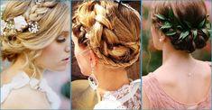 5 peinados de novia con trenzas, ¡look bohemio chic!