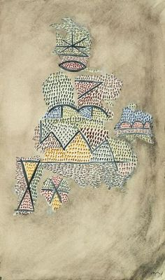 Paul Klee ~ Physiognomy of Fragments