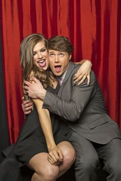 One Life to Live's Kelley Missal (left) and AJ Trischitta (right)  (Photo Courtesy of Victoria Will / TV Guide Magazine)