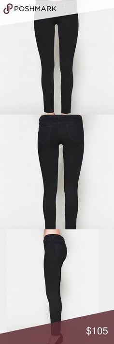 """L'AGENCE Low Rise Chantal Skinny Jeans L'Agence Chantal Low-Rise Skinny Jean. Super stretchy, five-pocket jean. Unique """"contoured fit"""" has lower rise in the front versus a higher rise in the back for supreme fit and coverage. Approx. 29"""" inseam, 7"""" front rise. With a superior fit and revolutionary fabrication, these are sure to become your favorite new skinny jeans! L'AGENCE Jeans Skinny"""