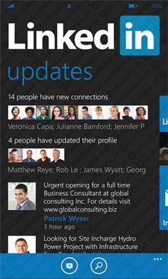 LinkedIn disponibile per gli smartphone Nokia Lumia sul Windows Marketplace