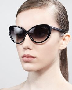 1fb4d7bb621fa Tom Ford - Madison Oversized Cat-Eye Sunglasses - Neiman Marcus So excited  to get