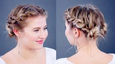 Hairstyle Of The Day: Double Twisted Buns Hairstyle | Milabu - YouTube