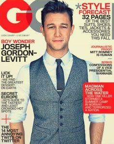 this month's GQ cover - Joseph Gordon-Levitt