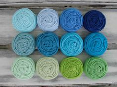 12 fabric rosettes YOU PICK your colors by sugarsugarhigh on Etsy, $17.00
