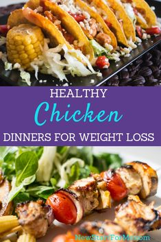 Don't skip dinner to lose weight, instead, use healthy dinner recipes with chicken to stay on track and actually enjoy dinner again.