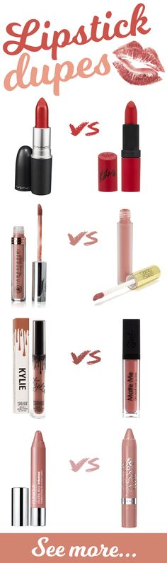 Get a pout to die for without bankrupting yourself - grab these Best Lipstick Dupes in the UK!