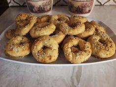 Bagel, Doughnut, Tea Party, Bread, Cooking, Desserts, Recipes, Food, Kitchen