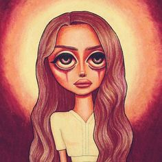• Summertime Sadness • Lana Del Rey #LDR #art by Peter Curtis