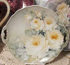 Fluffy again roses   ARTchat - Porcelain Art Plus (formerly Chatty Teachers & Artists)