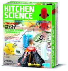 Kitchen Science Kit Kids Children Lab Experiment Fun Educational Learning Toy #4M