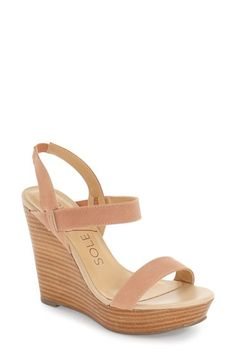 Sole Society 'Penelope' Wedge Sandal (Women)
