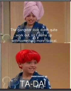 The Suite Life of Zack & Cody. I miss watching this show with you!!