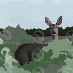 Doe a deer  snewdesigns