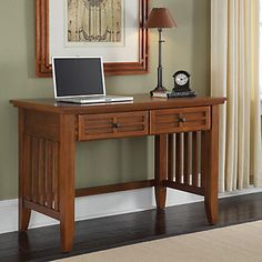 "Mission Style Student Desk 42"""" - Home Styles"