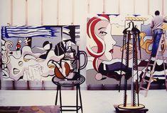roy lichtenstein's meditation on art