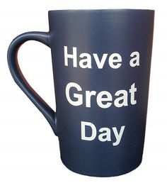 MAUAG Funny Christmas Gifts - Ceramic Coffee Mug Have a Great Day with Middle Finger on the Bottom Funny Porcelain Cup Dark Blue, Best Father's Day and Mother's Day Gag Gift, Funny Christmas Gifts, Christmas Fun, Holiday Gifts, Funny Coffee Mugs, Coffee Humor, Funny Cups, Delta Blues, Good Good Father, Gag Gifts